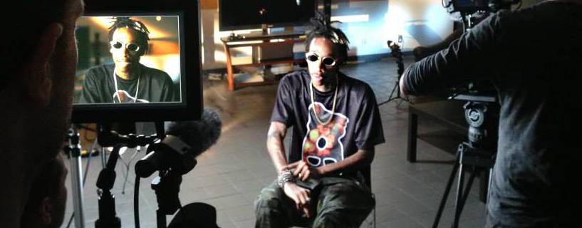 Wiz during his interview